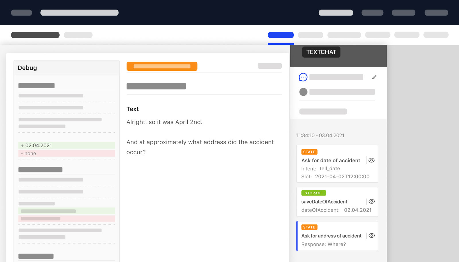 Debug Chat Chatbot Bot Test Prototype