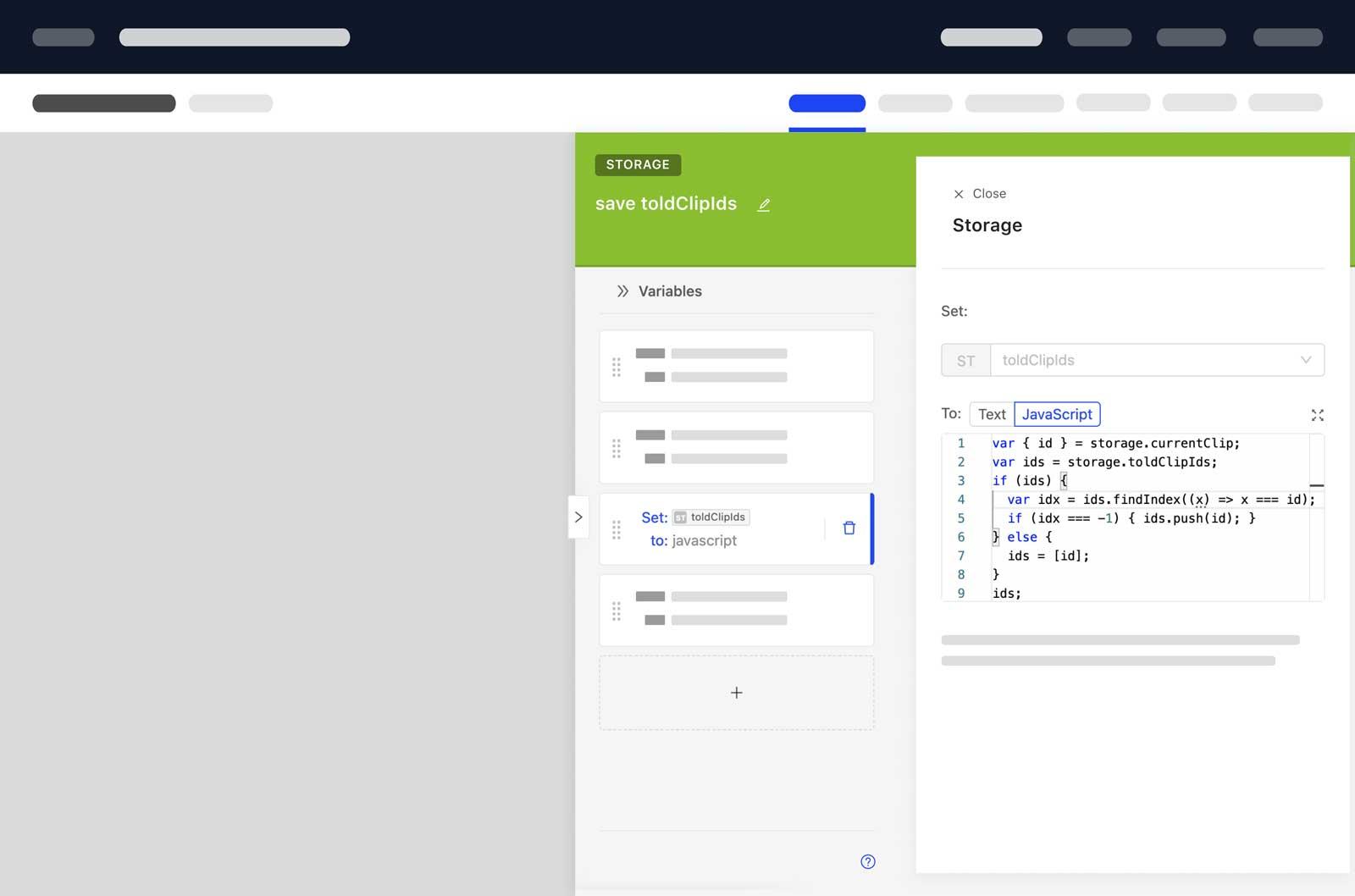 Parloa Frontend JavaScript Developer Code