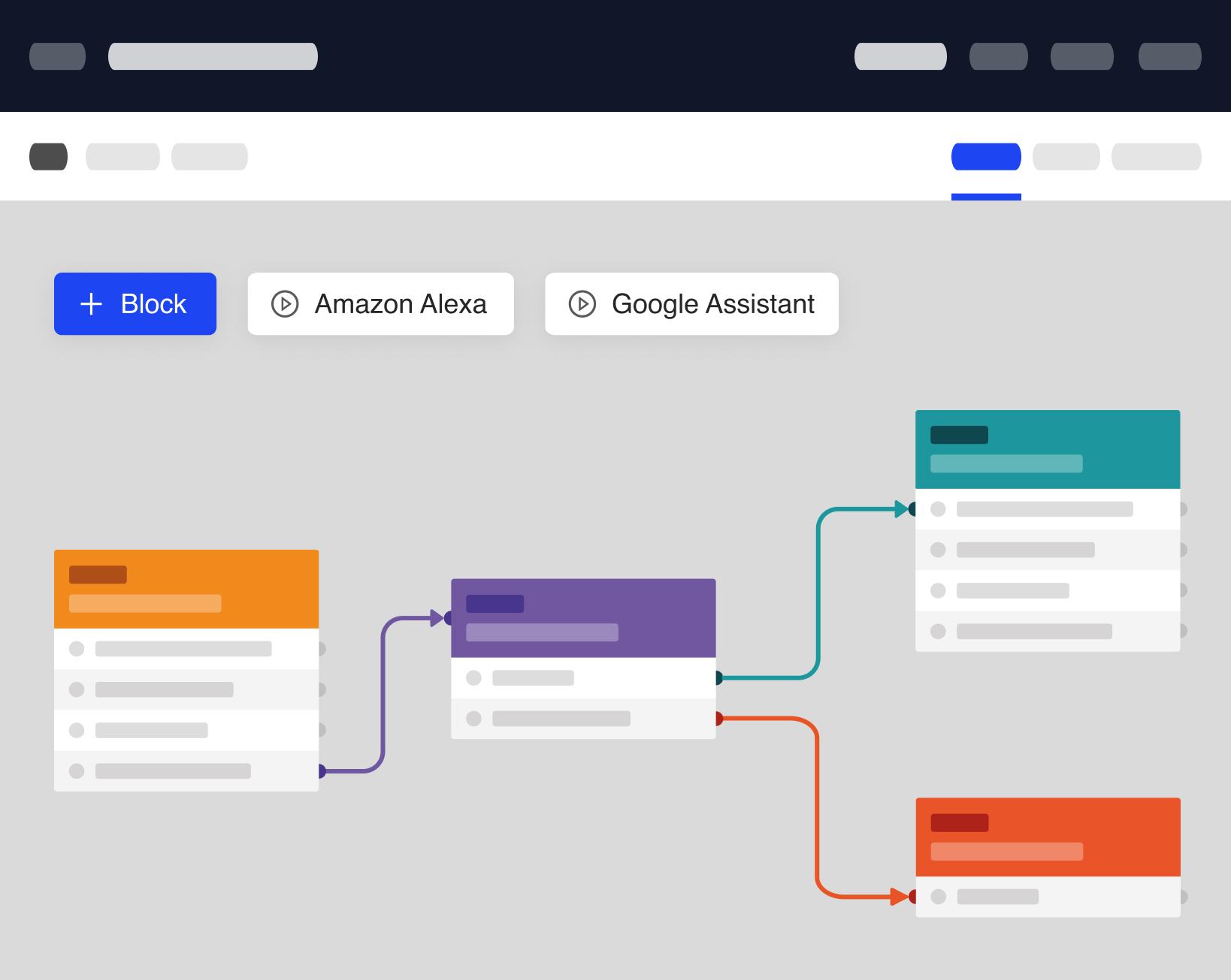 Alexa Skill Google Action Flow Chart Builder Software